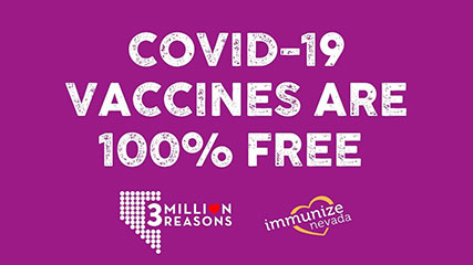 Graphic for Twitter about Free COVID-19 Vaccine