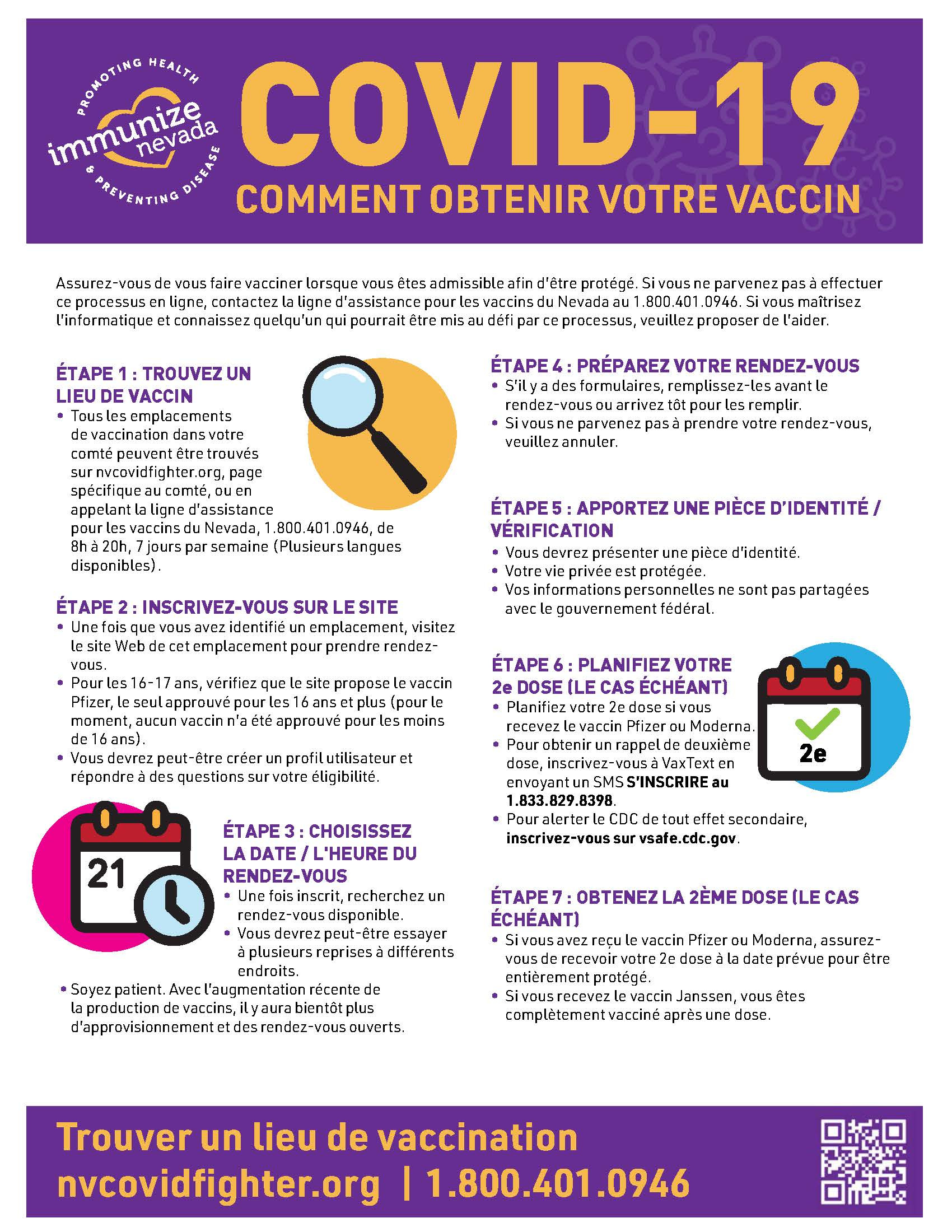 COVID-19 Vaccine Appointment Steps Flyer_FR_v1