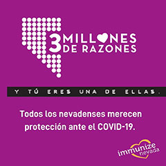 Graphic for Instagram about COVID-19 Protection in Spanish