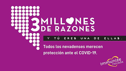 Graphic for Twitter about COVID-19 Protection in Spanish